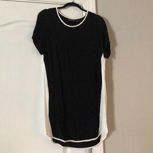 Dresses & Skirts - Evil twin black & white dress
